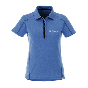 Ladies' Macta Short Sleeve Polo - ROYAL/BLACK